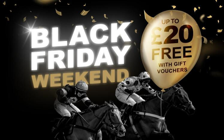 Treat someone with black friday gift voucher to enjoy live horse racing at Sedgefield Racecourse. A unique gift for Christmas